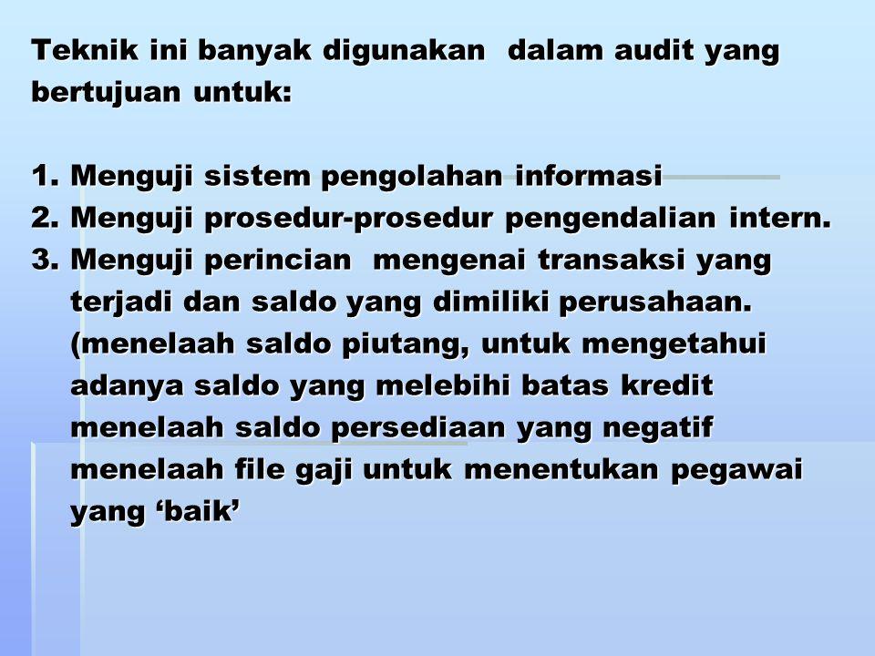 Tujuan pemeriksaan umum : 1.