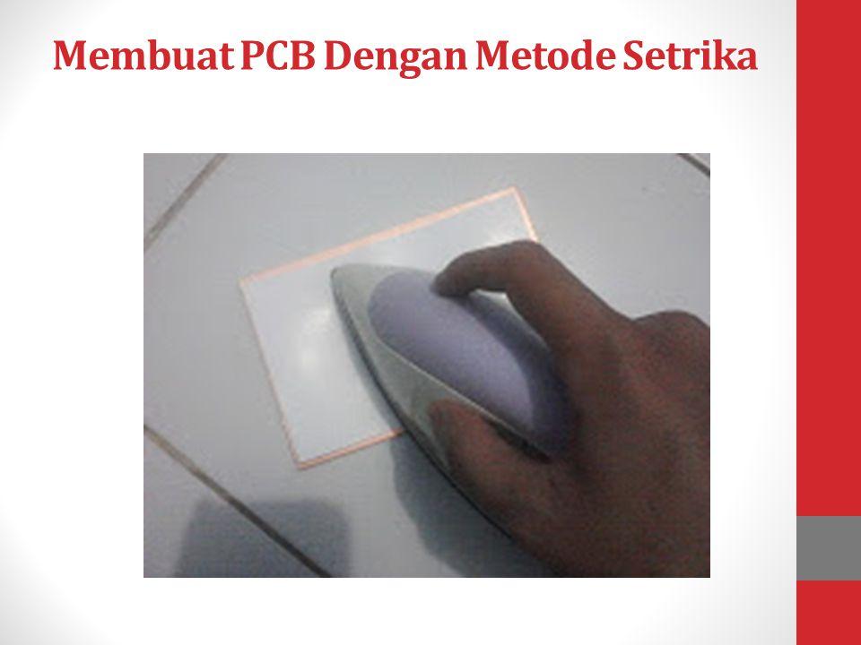 Teknik pelarut PCB 1.Metode Pelarut PCB FeCl3 ( Ferric Chloride ) Keuntungan : 1.