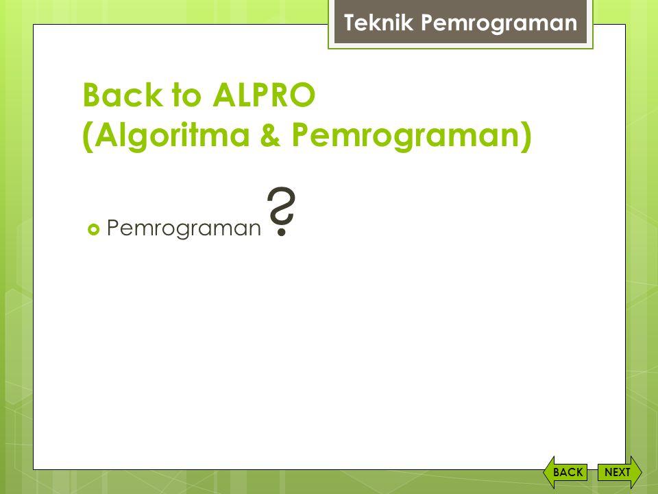 Level Bahasa Pemrograman  High Level Language  Low Level Language NEXTBACK Teknik Pemrograman