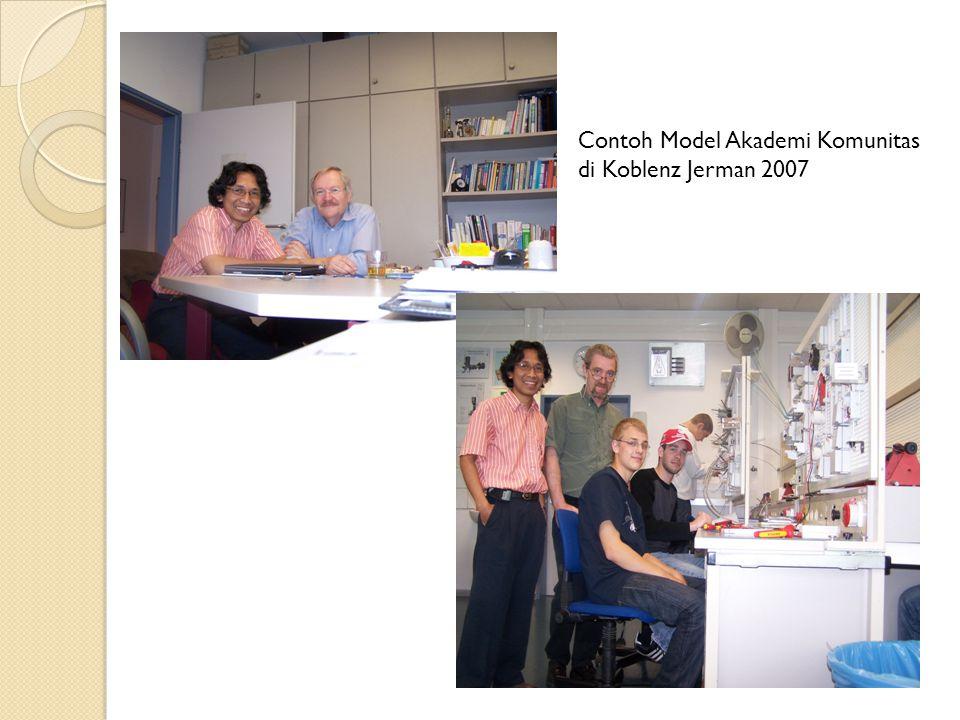 Contoh Model Akademi Komunitas di Koblenz Jerman 2007