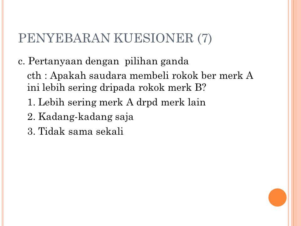PENYEBARAN KUESIONER (7) c.