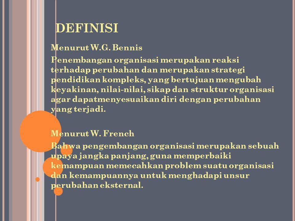 DEFINISI Menurut W.G.