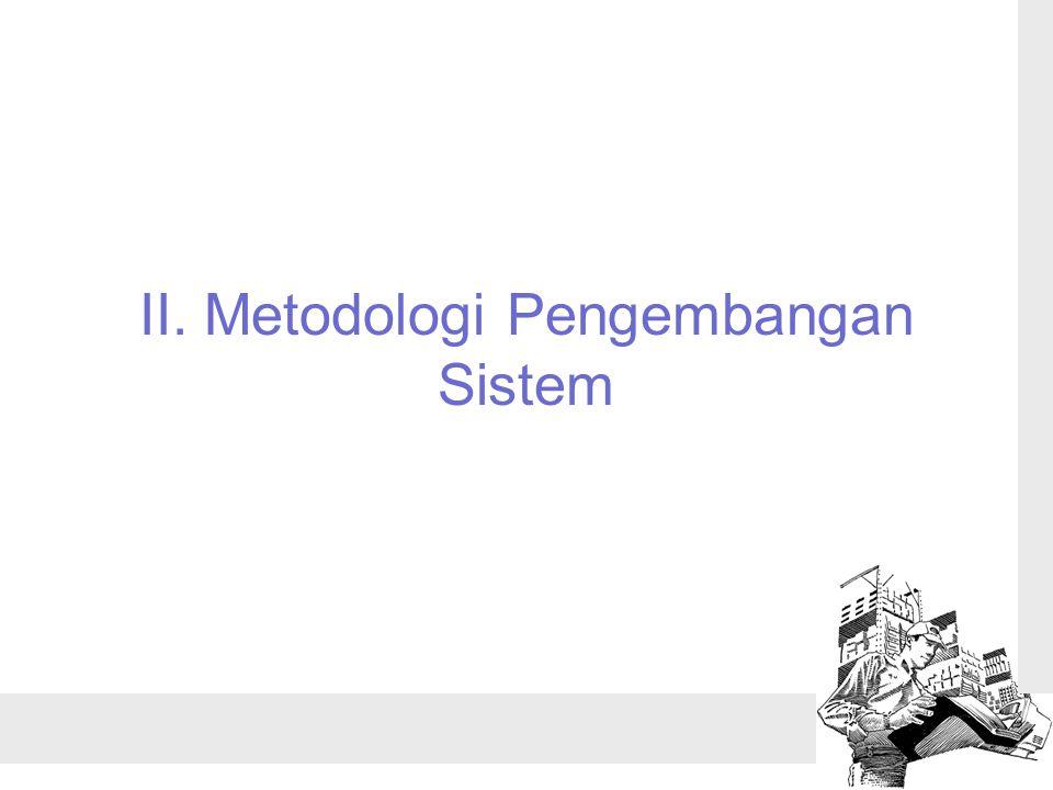 II. Metodologi Pengembangan Sistem