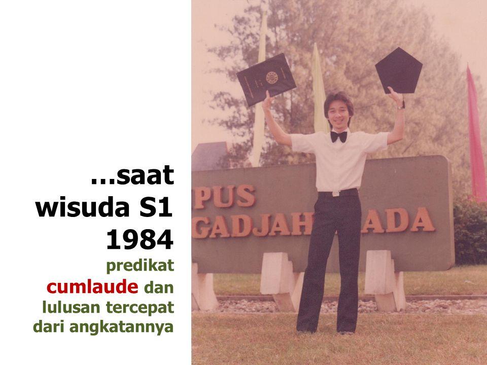 Guru SMA 1982-1984 PERJALANAN KARIER: Guru SMA Negeri IV Yogyakarta
