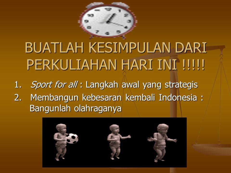 Nilai-nilai Karakter dalam Bermain&Olahraga Menurut pendapat Furqon Hidayatullah (2010: 22), nilai-nilai karakter: 1. Nilai karakter dalam hubungannya