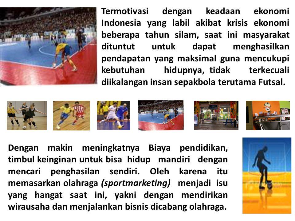Termotivasi dengan keadaan ekonomi Indonesia yang labil akibat krisis ekonomi beberapa tahun silam, saat ini masyarakat dituntut untuk dapat menghasil