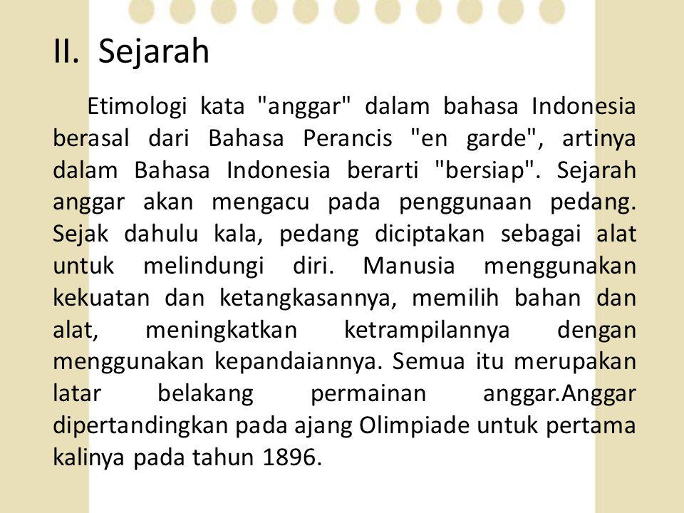 II. Sejarah Etimologi kata