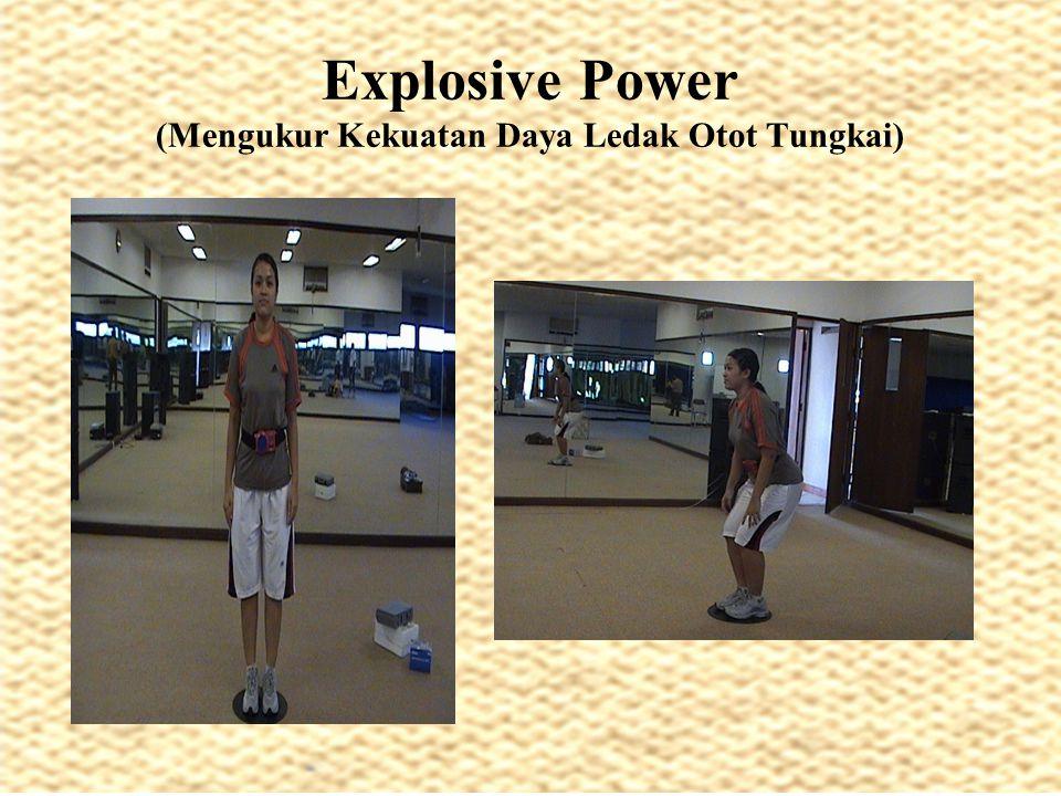 Explosive Power (Mengukur Kekuatan Daya Ledak Otot Tungkai)