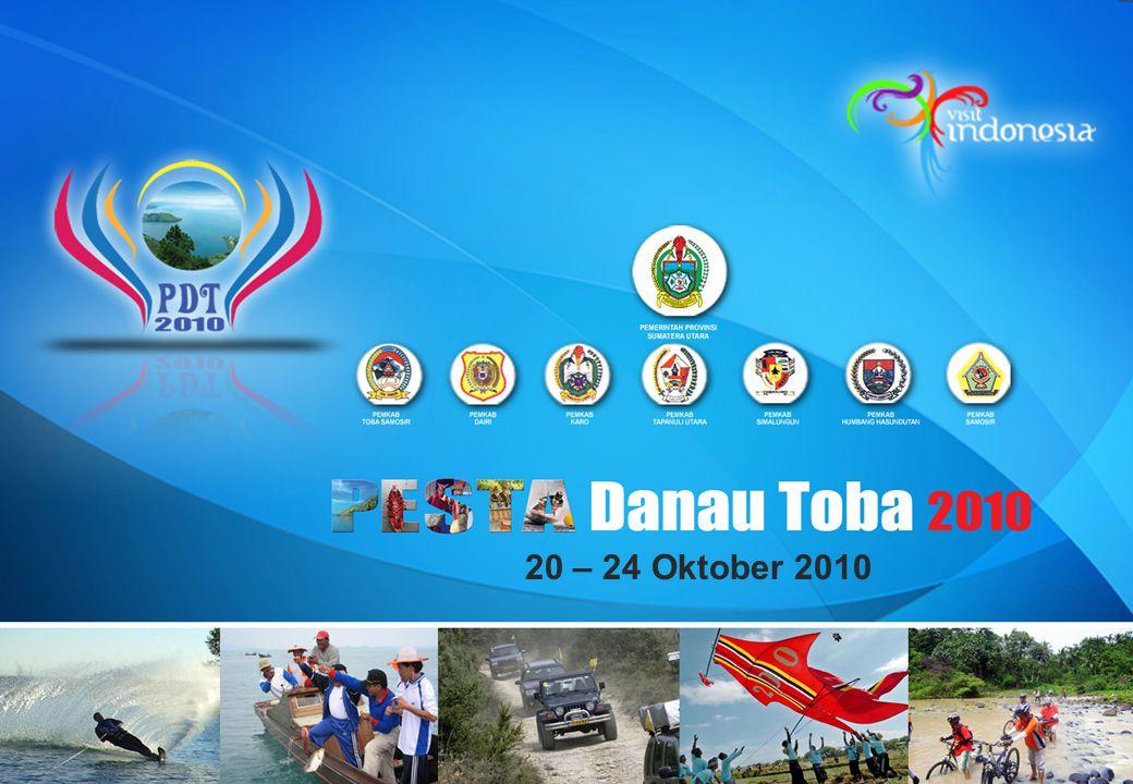PESTA DANAU TOBA 2010 Pendahuluan Pesta danau Toba merupakan aset bangsa yang harus di lestarikan, dikembangkan dan di sosialisasikan.