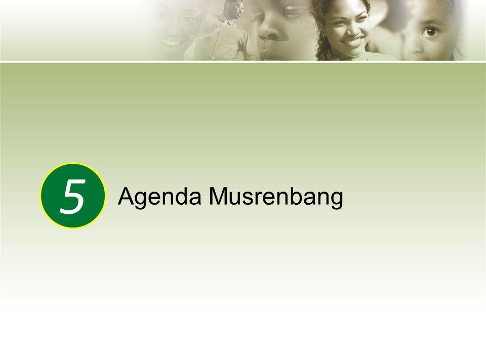 Agenda Musrenbang 5