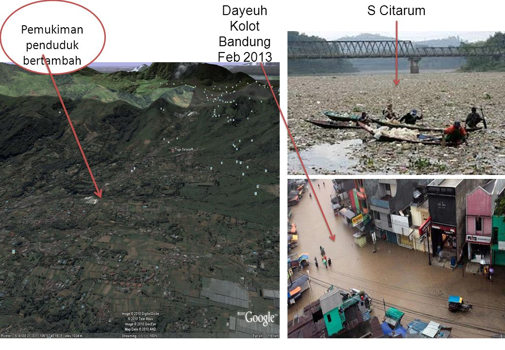 Dayeuh Kolot Bandung Feb 2013 Pemukiman penduduk bertambah S Citarum
