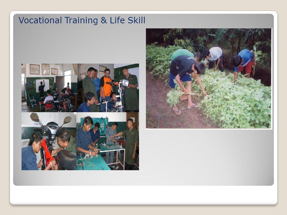 Vocational Training & Life Skill
