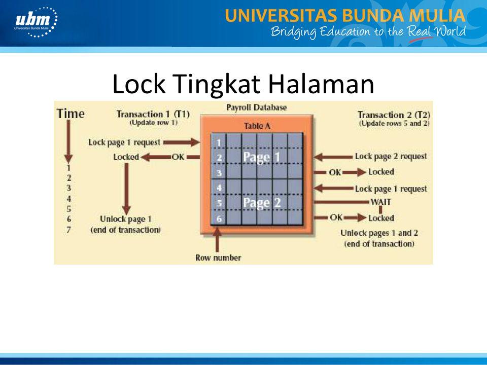 Lock Tingkat Halaman