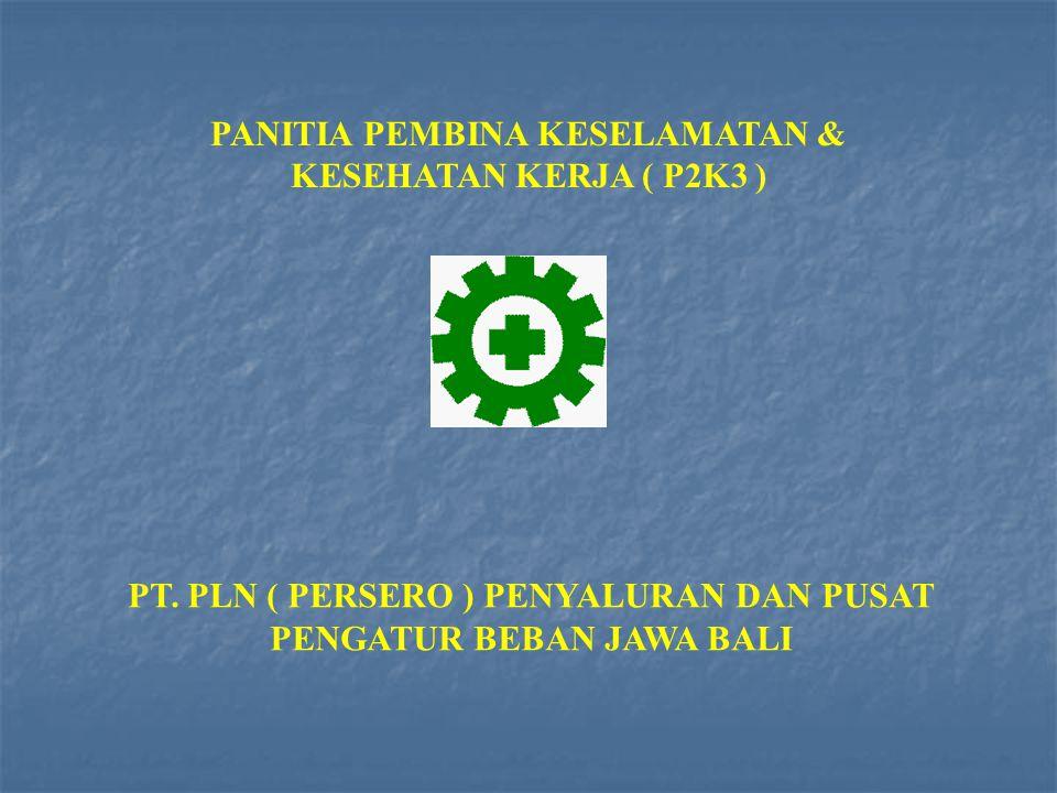 PANITIA PEMBINA KESELAMATAN & KESEHATAN KERJA ( P2K3 ) PT.