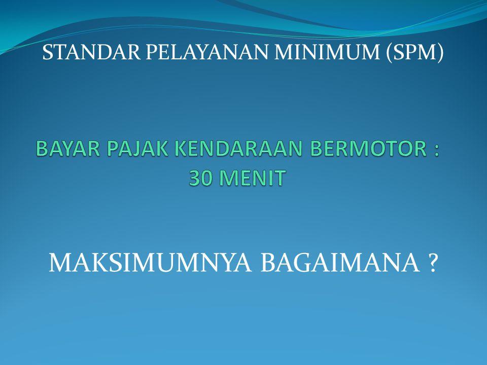 RUANG LINGKUP PELAYANAN : a.Pelayanan Barang Publik : Mamin (Makanan Minuman) b.
