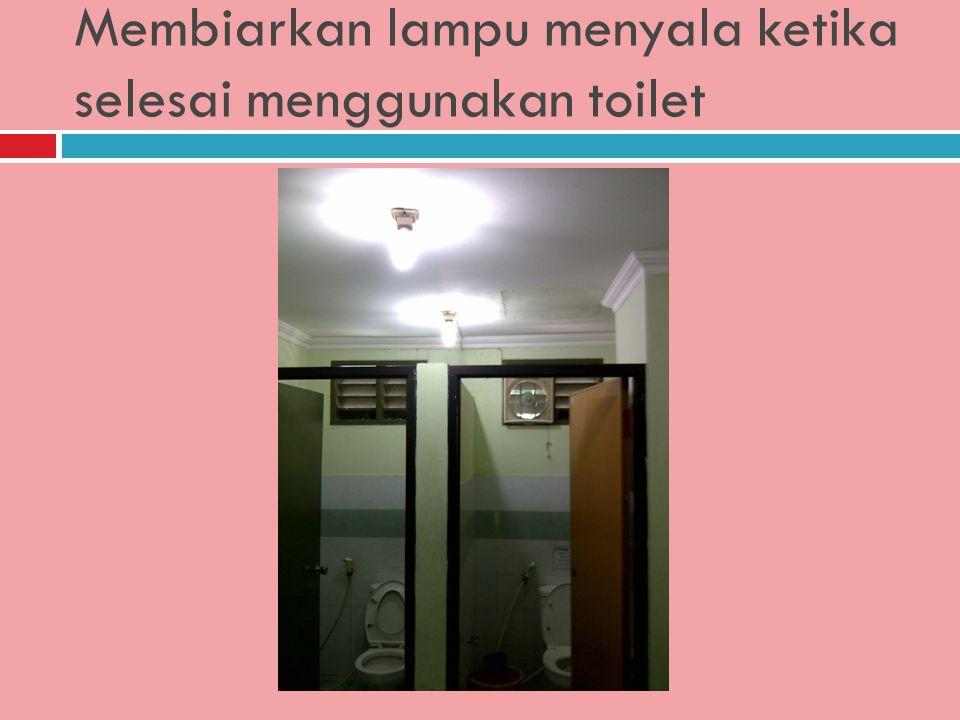 Merokok di toilet