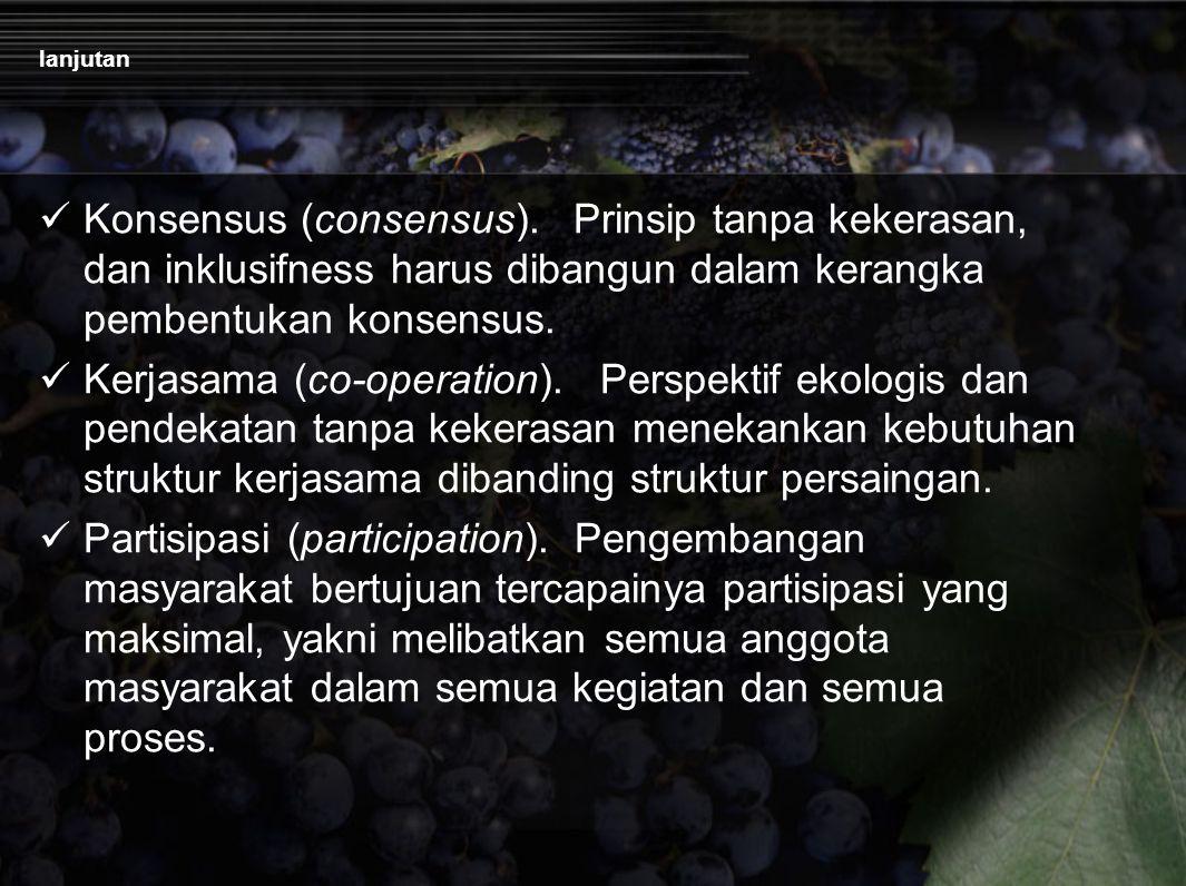 lanjutan Konsensus (consensus).