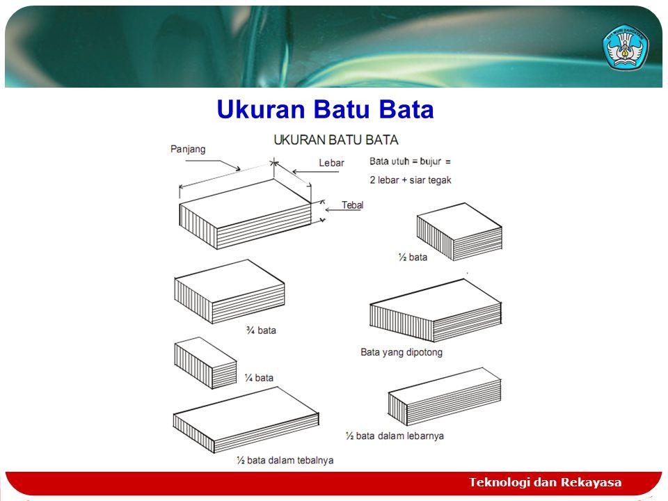 Ukuran Batu Bata Teknologi dan Rekayasa