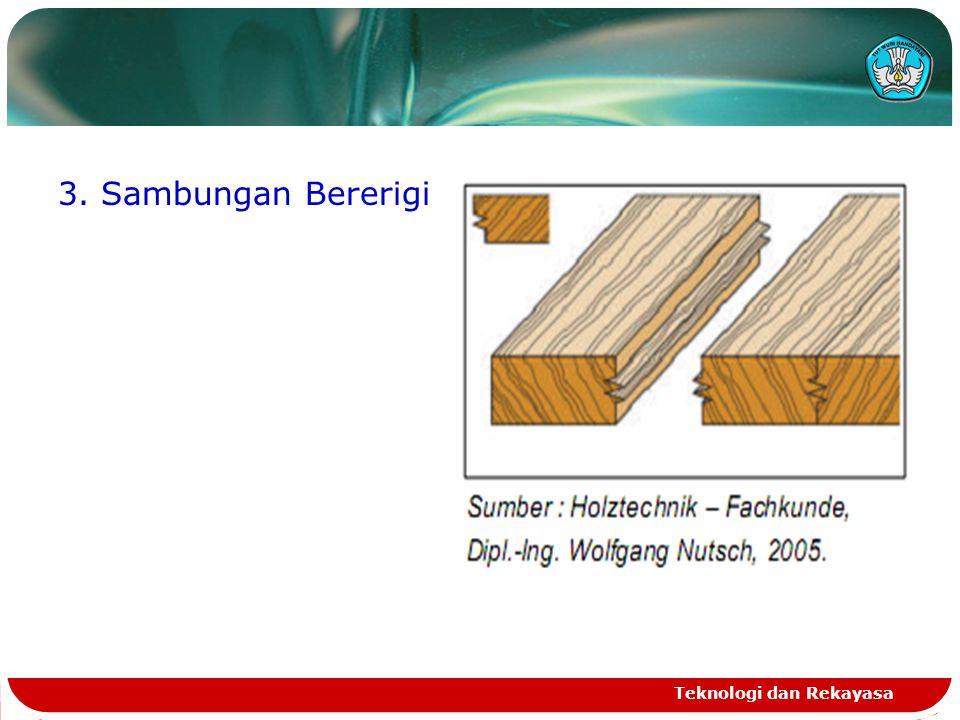 3. Sambungan Bererigi Teknologi dan Rekayasa
