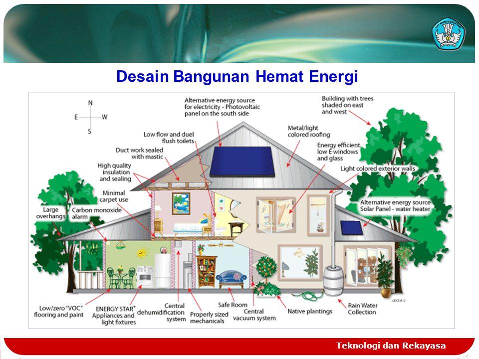Desain Bangunan Hemat Energi Teknologi dan Rekayasa