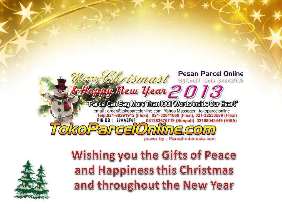 Cocok untuk kado Natal & Tahun Baru 2013 buat teman, kolega bisnis, ataupun keluarga anda (bapak, ibu, kakak, adik, kakek, nenek).