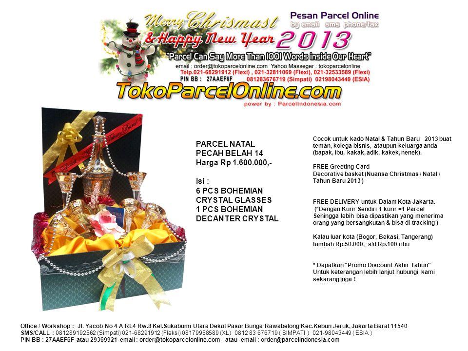 Cocok untuk kado Natal & Tahun Baru 2013 buat teman, kolega bisnis, ataupun keluarga anda (bapak, ibu, kakak, adik, kakek, nenek). FREE Greeting Card
