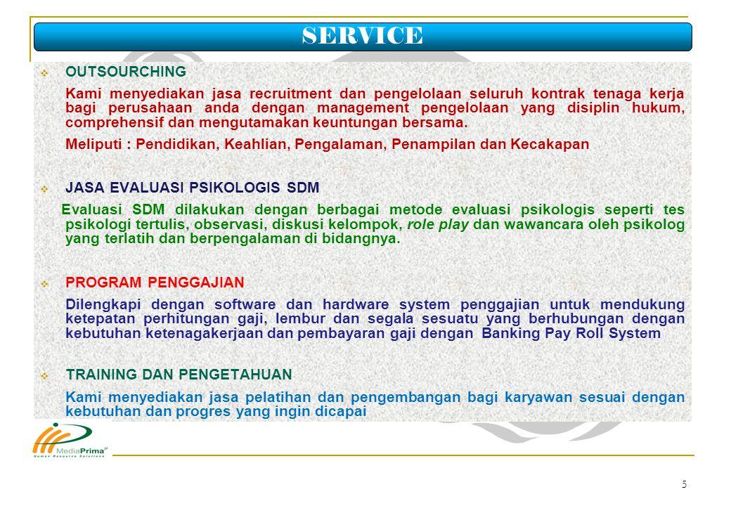 16 Ijin Operasional Perusahaan Penyedia Jasa Pekerja/ Buruh dari Suku Dinas Tenaga Kerja dan Transmigrasi No.