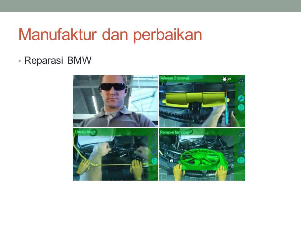 Manufaktur dan perbaikan Reparasi BMW