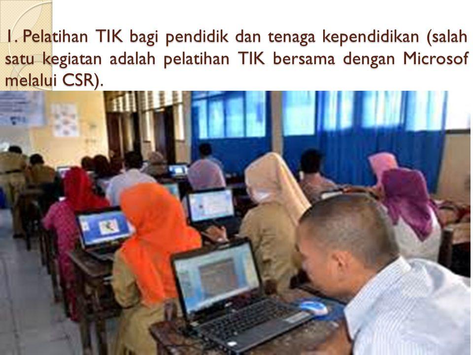 KEBIJAKAN PENDIDIKAN DALAM PENGGUNAAN TIK Pendidikan dan kemajuan teknologi komunikasi memiliki keterkaitan yang sangat erat, bahwa tuntutan perkemban