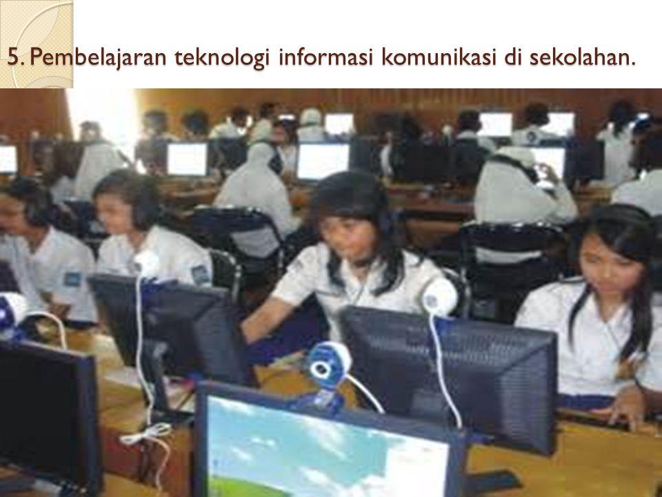 4 Pembelajaran melalui jardiknas jenjang SD, SMP, SMA dan SMK.