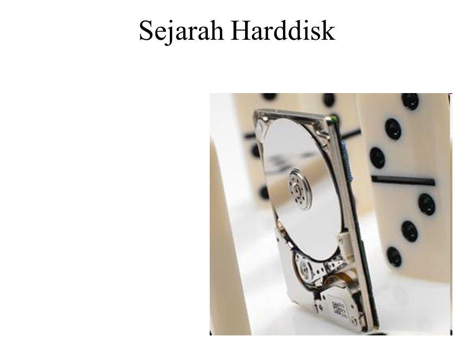 Harddisk pertama Disk drive pertama berasal dari IBM.