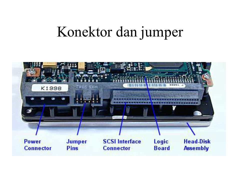 Konektor dan jumper