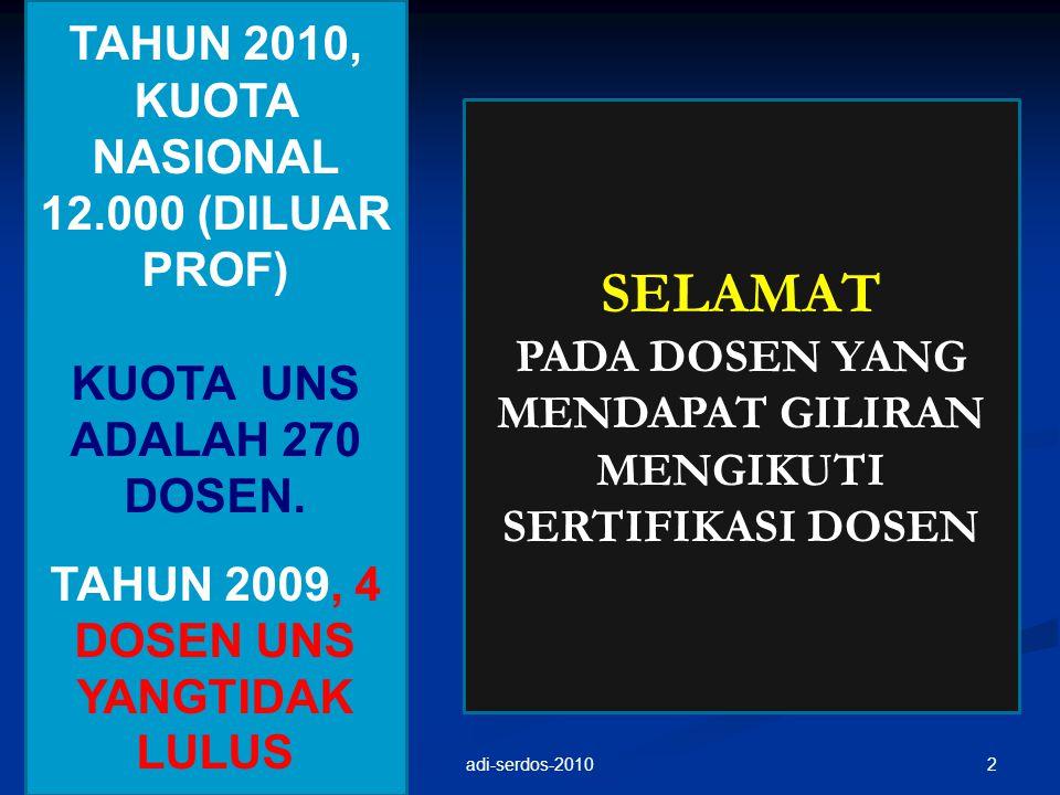 DASAR HUKUM 1.UU. No.20 Th 2003 Tentang Sistem Pendidikan Nasional; 2.