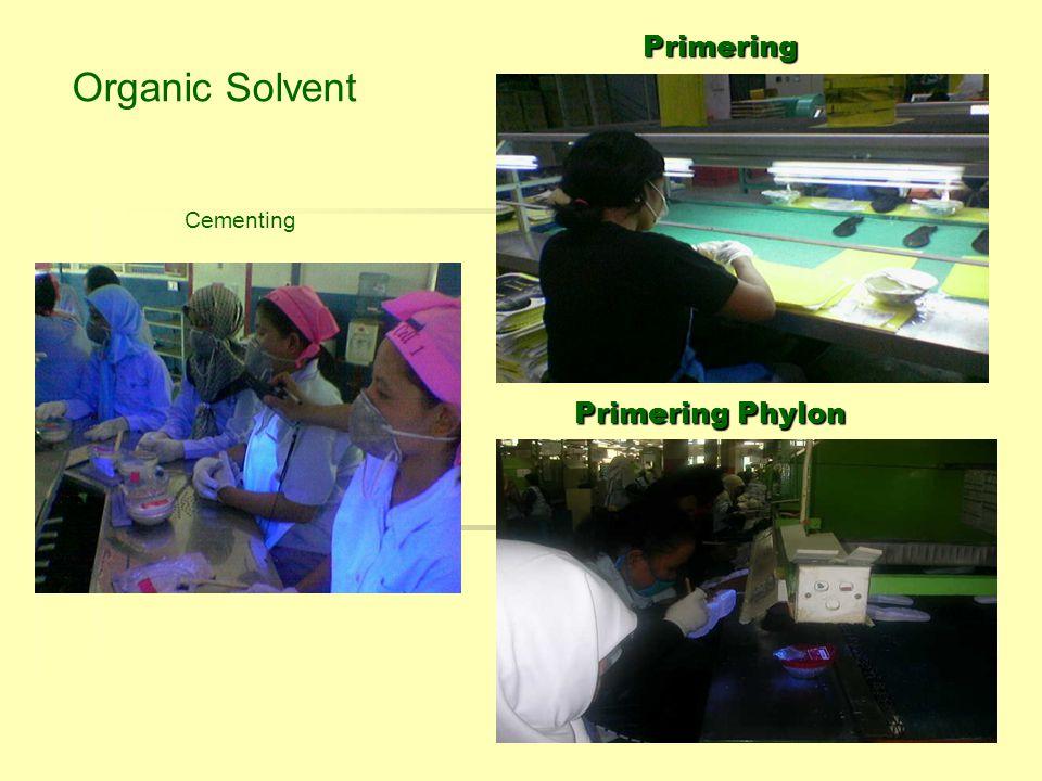 Cementing Primering Phylon Primering Organic Solvent