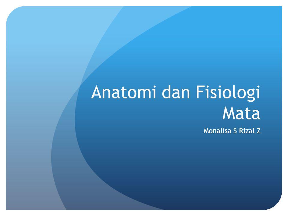 Anatomi dan Fisiologi Mata Monalisa S Rizal Z