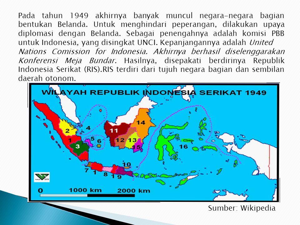 Pada masa awal kemerdekaan tahun 1945, wilayah Indonesia hanya terdiri atas delapan propinsi. Jakarta ditetapkan sebagai ibu kota negara. Ayo kita car