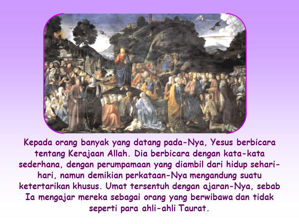 «Tuhan, Kepada siapakah kami akan pergi.