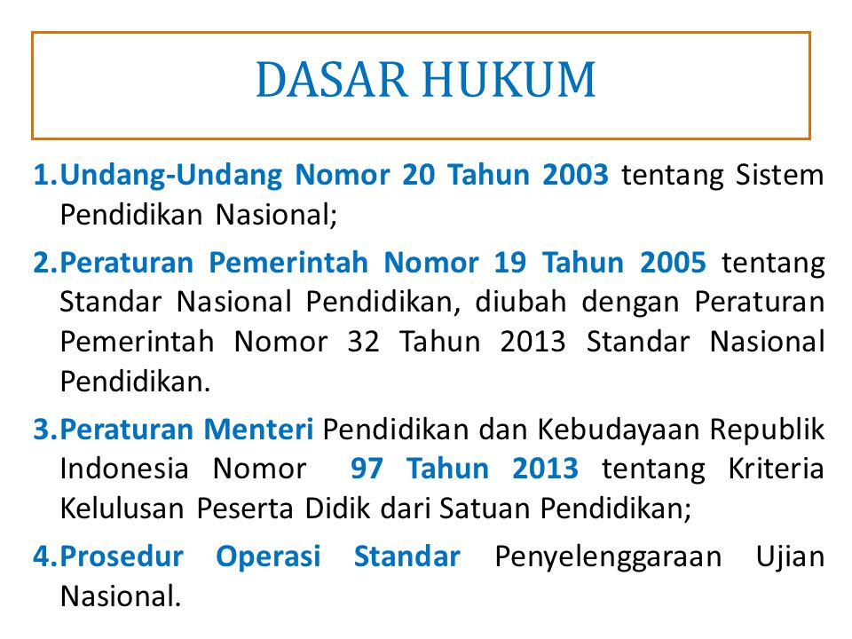 10 STRUKTUR PANITIA PENGAWASAN UJIAN NASIONAL TAHUN PELAJARAN 2013/2014