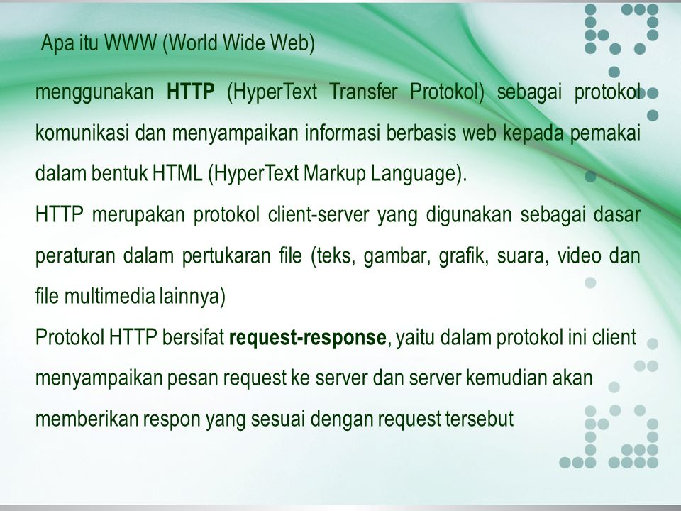 Mengapa Website itu populer….