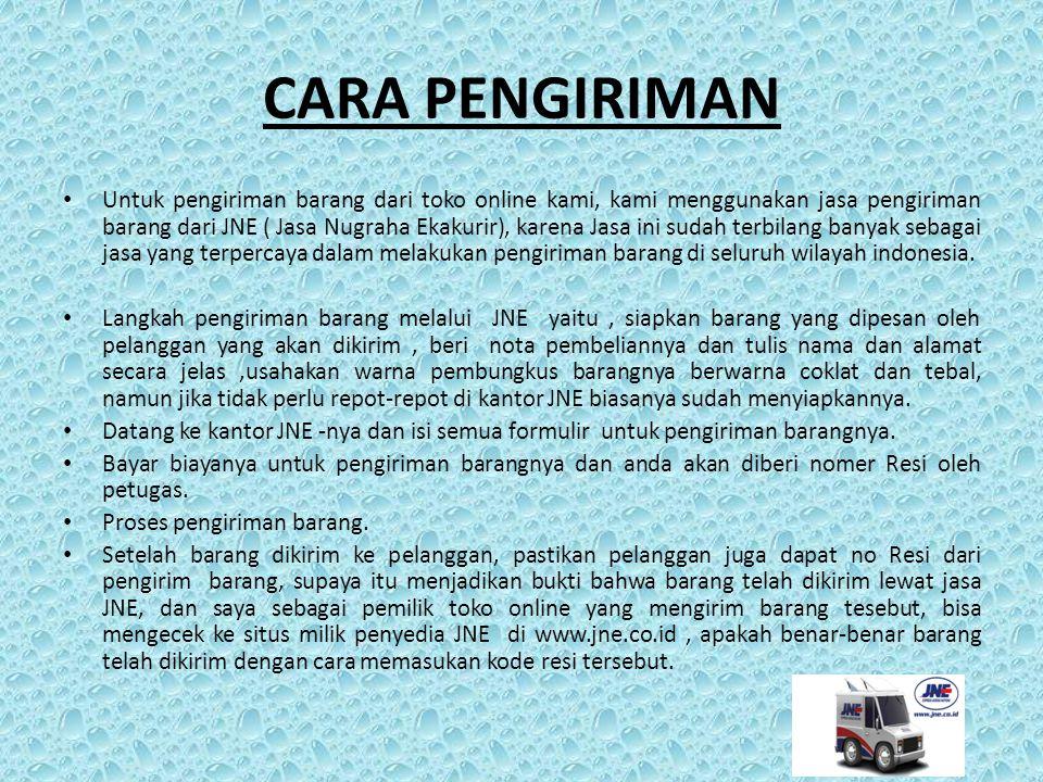 ONGKOS KIRIM (ONGKIR) Toko online komputer kami beralamatkan di Kota Sidoarjo, jadi untuk ongkos kirim barang ke seluruh penjuru Indonesia, kami sertakan detailnya dibawah ini : Sidoarjo: Rp.10.000 Surabaya: Rp.15.000 Malang: Rp.20.000 Luar Provinsi: Rp.50.000 Luar Pulau: Rp.75.000