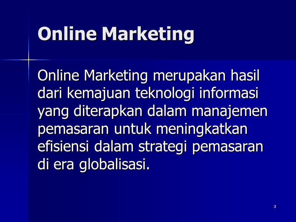 2 Marketing Sebuah proses yang melibatkan setiap aspek bisnis, mulai dari mendesain produk, menentukan harga dan mendapatkan umpan balik dari pelangga