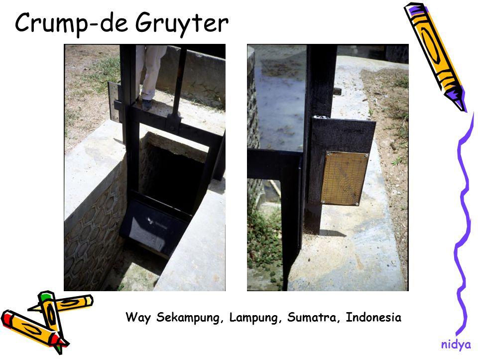 Crump-de Gruyter Way Sekampung, Lampung, Sumatra, Indonesia nidya