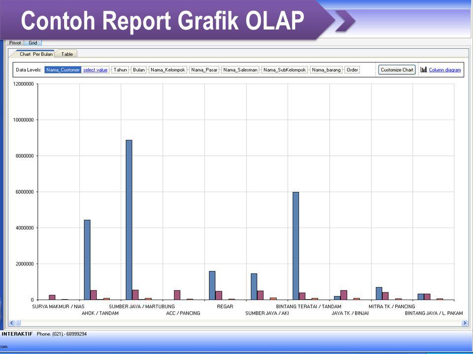 Contoh Report Grafik OLAP