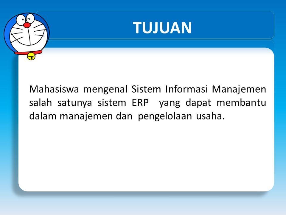 Memilih ERP Latar Belakang Memilih ERP yang TEPAT Investasi ERP sangat mahal dan pilihan ERP yang salah bisa menjadi mimpi buruk ERP yang berhasil digunakan oleh sebuah perusahaan tidak menjadi jaminan berhasil di perusahaan yang lain Perencanaan harus dilakukan untuk menyeleksi ERP yg tepat Bahkan dalam beberapa kasus yang ekstrim, evaluasi pilihan ERP menghasilkan rekomendasi untuk tidak membeli ERP, tetapi memperbaiki Business Process yang ada Tidak ada 'keajaiban' dalam ERP software.
