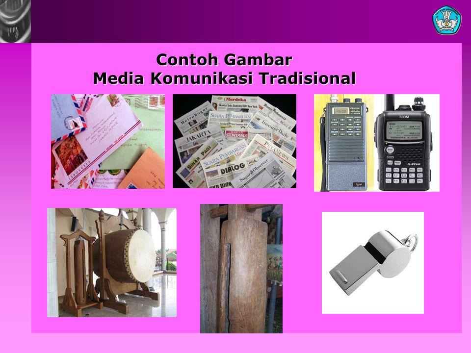 Contoh Gambar Media Komunikasi Tradisional