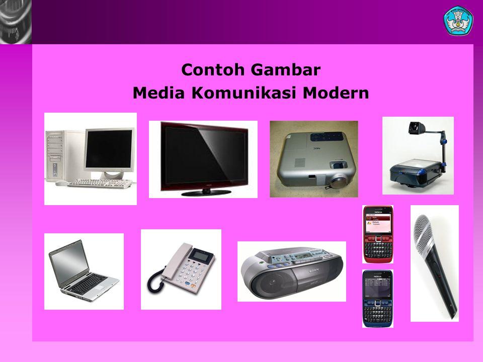 Contoh Gambar Media Komunikasi Modern