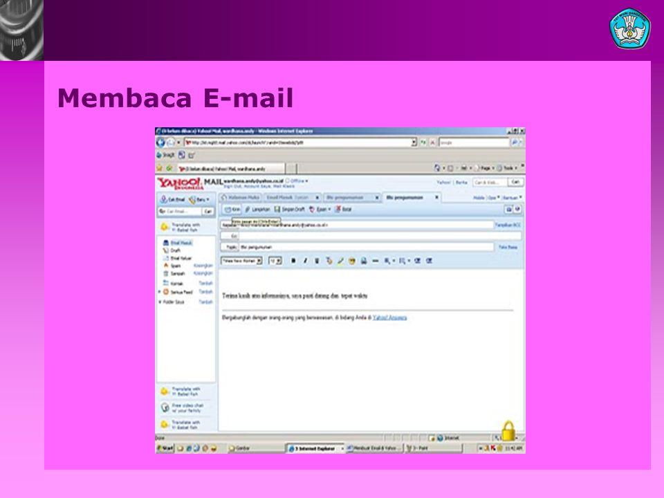Membaca E-mail