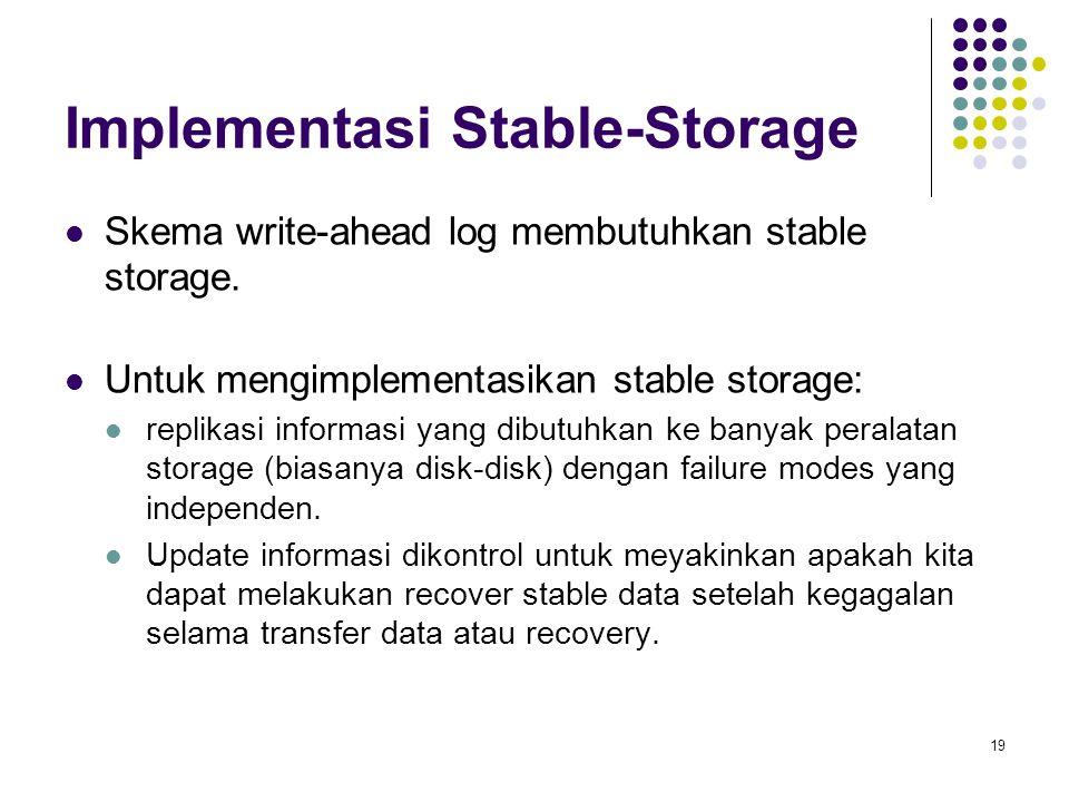 20 Tertiary Storage Device Ciri-ciri Tertiary Storage Device : Biaya produksi lebih murah.