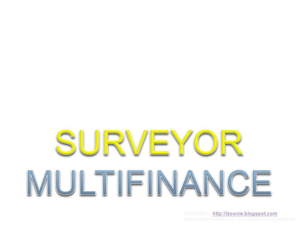 SUBJEK I.JobDesc dan Target Kerja Surveyor II. Tata Cara Survey III.