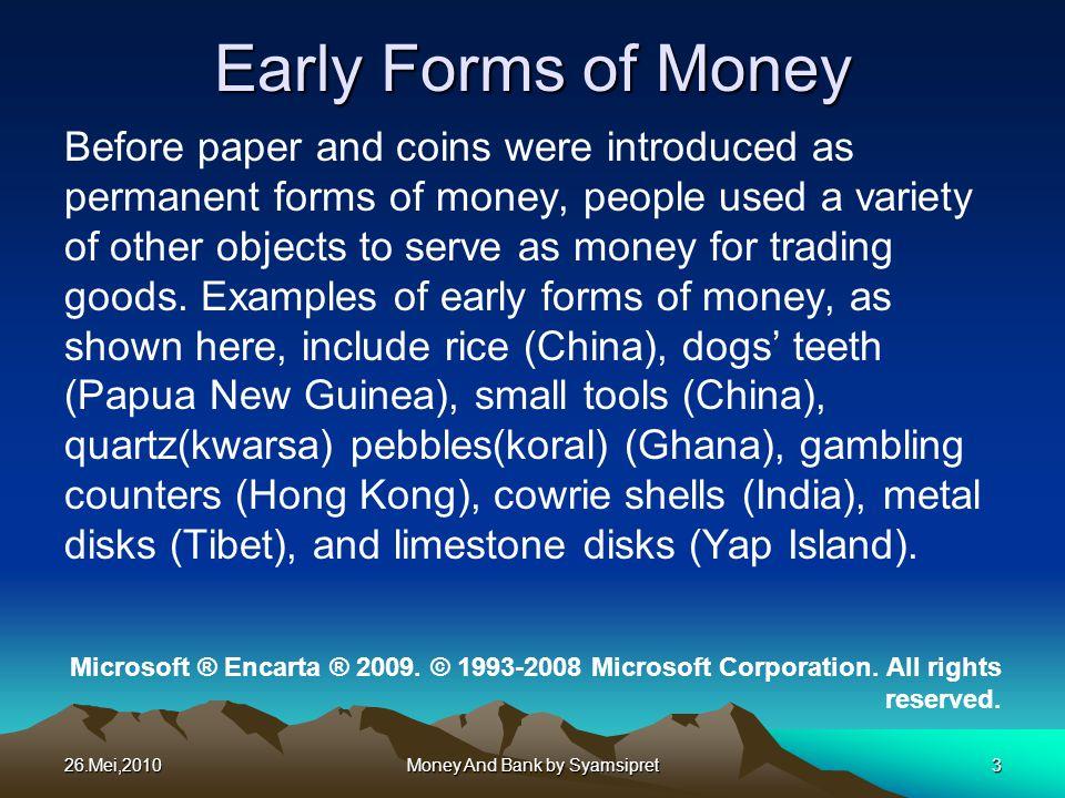 26.Mei,2010 Money And Bank by Syamsipret24 Kurva Penawaran (MS) memiliki Slope positif dan posisinya dipengaruhi oleh kebijakan moneter.